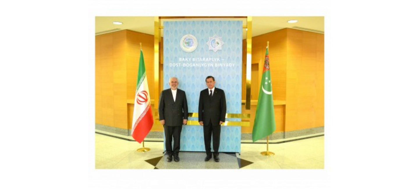 VISIT OF THE MINISTER OF FOREIGN AFFAIRS OF THE ISLAMIC REPUBLIC OF IRAN TO TURKMENISTAN